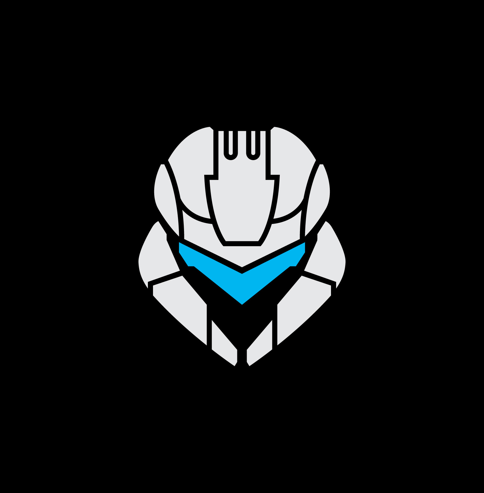 Halo Spartan Assault Icon On BLACK RGB