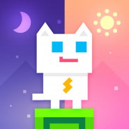 Super Phantom Cat – Be a jumping bro.