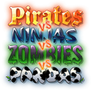 Pirates vs. Ninjas vs. Zombies vs. Pandas HD
